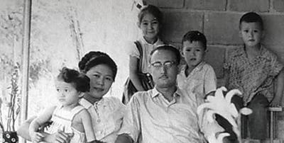 Een foto uit privécollectie: familie Hartman in Indië