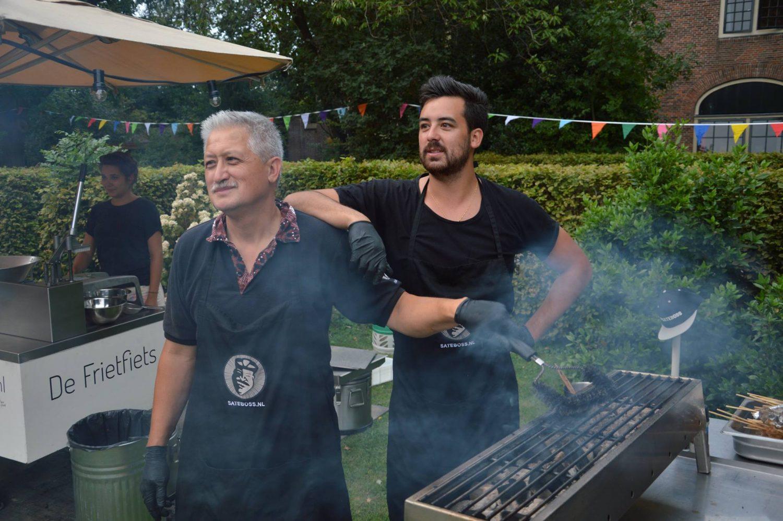 Paul en Raphael van Satéboss tijdens event voor Stichting Het Vergeten Kind