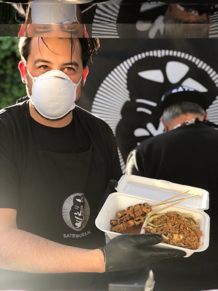 Foodtruck inhuren tijdens coronacrisis